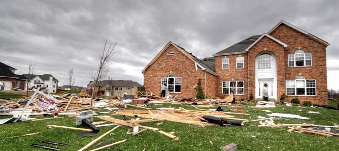 Residential Storm Damage